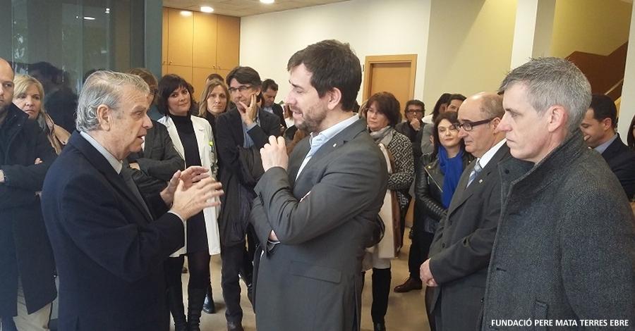La Unitat Polivalent d'Amposta celebra els 10 anys de la Fundació Pere Mata Terres de l'Ebre
