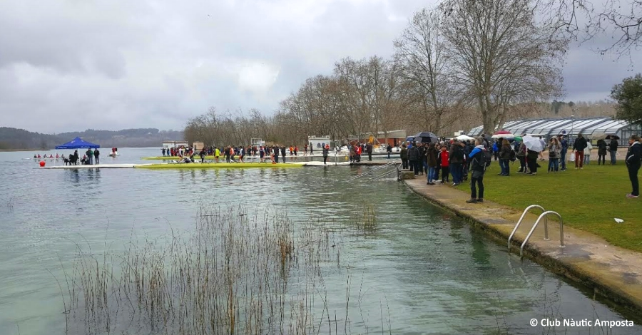 Celebrada la II Confrontació Catalana de Rem Olímpic | Amposta.info