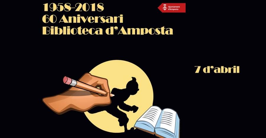 60è Aniversari de la Biblioteca d'Amposta