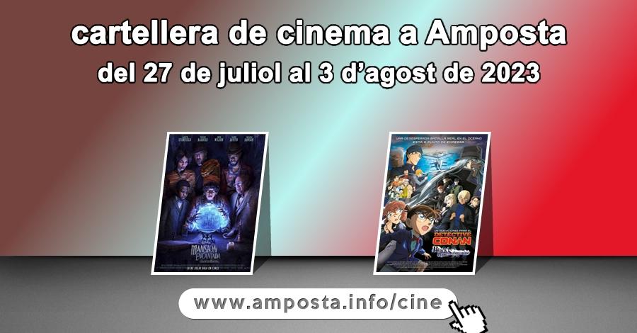 Cartellera de cinema