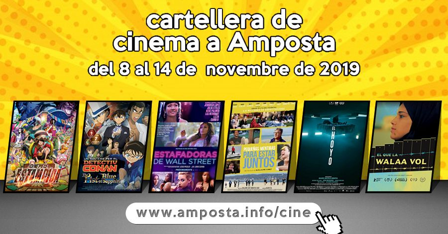 Cartellera de cinema a Amposta