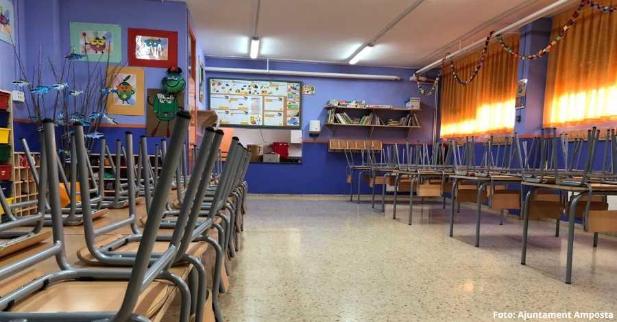 El Col·legi Soriano-Montagut renova menjador i aula de Psicomotricitat