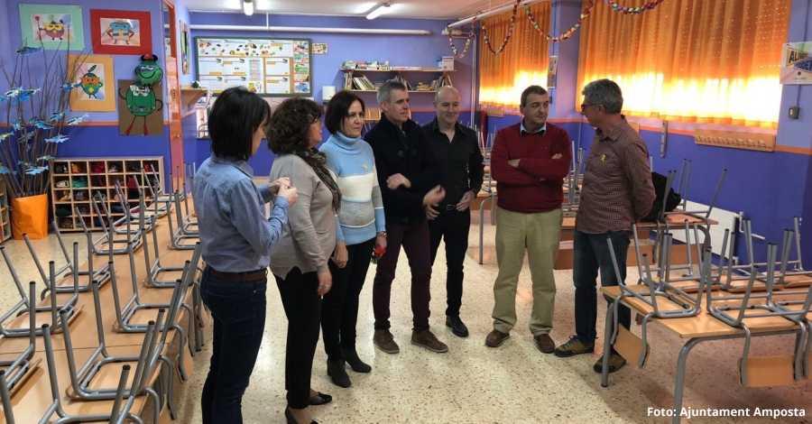El Col·legi Soriano-Montagut renova menjador i aula de Psicomotricitat | Amposta.info