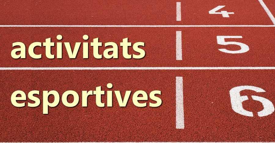 Activitats esportives del 23 al 25 de febrer 2018