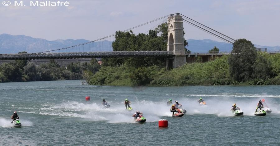 Amposta acollirà la cinquena regata del Campionat de Catalunya de motos aquàtiques