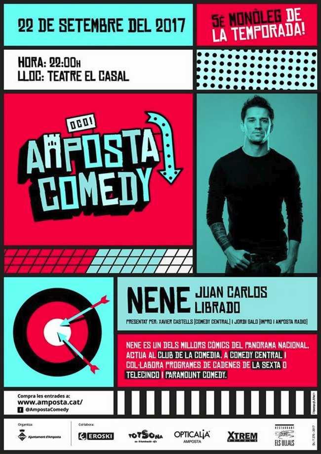 Amposta Comedy: NENE (El Club de la Comèdia, Paramount Comedy i Comedy Central)