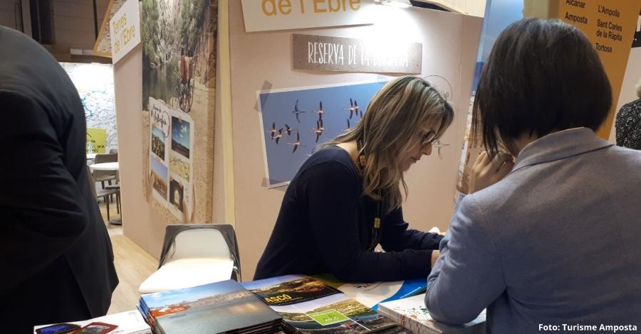 Amposta promociona el patrimoni cultural material i immaterial de la ciutat a Fitur