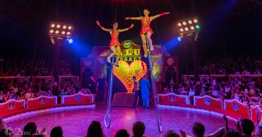 El Circ Raluy Legacy arriba a Amposta amb el seu gran espectacle