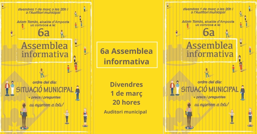 6a Assemblea Informativa