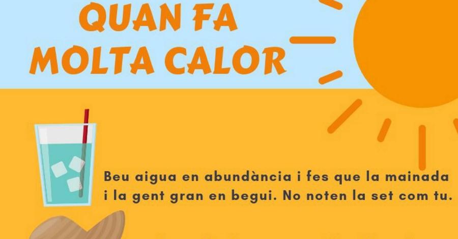 Activada l'Alerta del Pla de Protecció Civil de Catalunya PROCICAT per onada de calor generalitzada