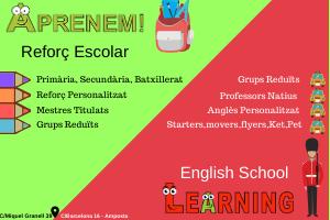 APRENEM. Activitats extraescolars i de lleure | Miquel Granell, 39 Amposta @ Tel. 680738669 | info@aprenem.es