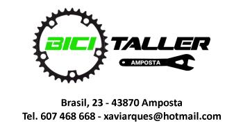 Material esportiu per a btt. Venda i taller propi de bicicletes.
