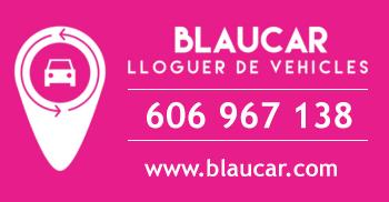 Blaucar - Lloguer, rènting i venda de vehicles - tel. 606 967 138