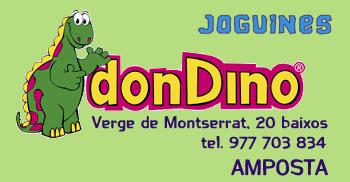 Don Dino Joguines. Verge de Montserrat, 20 - Amposta