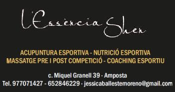 L´ESSÈNCIA SHEN Acupuntura esportiva - Nutrició esportiva - Massatge pre i post competició - coaching esportiu