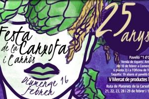 25a Festa de la Carxofa i de l´Arròs i 5è Mercat de Productes de les Terres de l'Ebre. Amposta, 16/02/2020