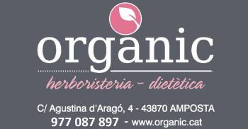 Orgànic herboristeria i dietètica - Tel. 977 087897 - c/ Agustina d´Aragó, 4 (Amposta)