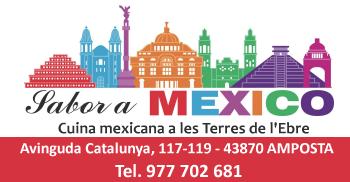Sabor a México - Av. Catalunya, 117-119 - Amposta