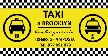 Taxi a Brooklyn Hamburgueseria. Toledo, 5 - Amposta