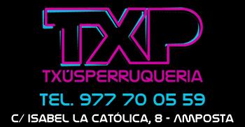 Txús Perruqueria - Tel. 977 70 05 59 - c/ Isabel la Catòlica, 8 (Amposta)