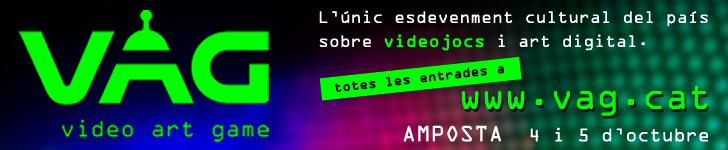 VAG 4 i 5 octubre 2019. L´únic esdeveniment cultural del país sobre videojocs i art digital