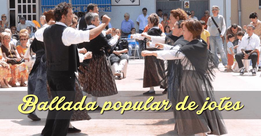 """Ballada de Jotes, amb l'actuació de La Xaranga """"Tal com Sona"""" i Silvia Ampolla"""