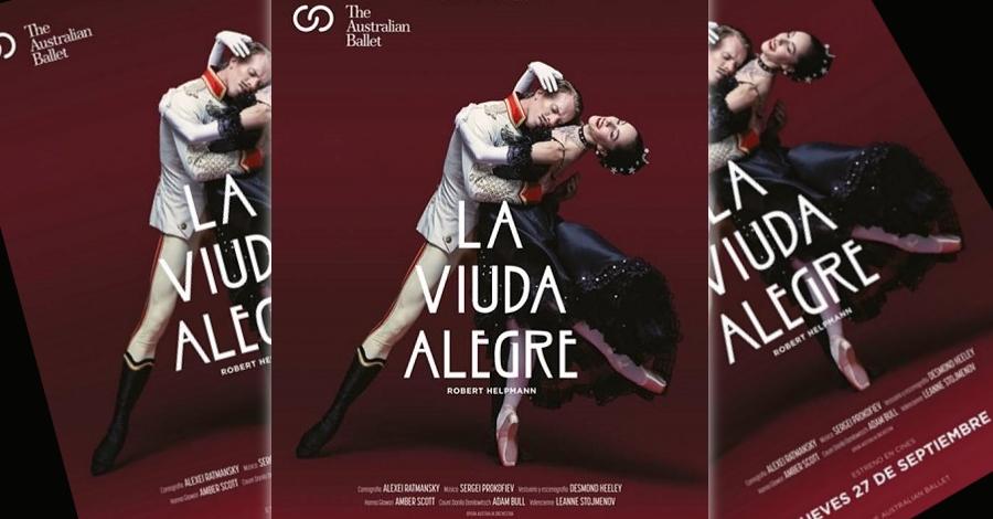Ballet «La viuda alegre»