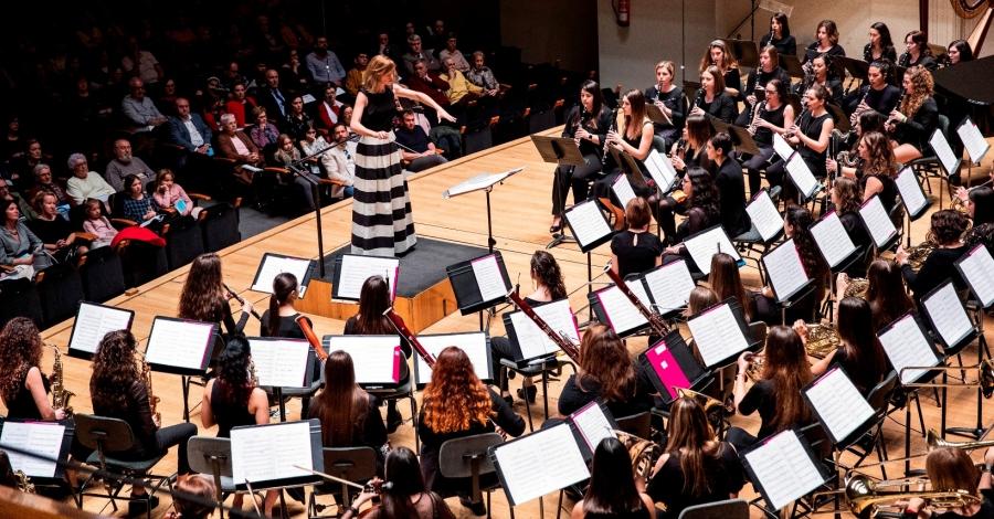 La Banda Simfònica de Dones de la FSMCV actuarà a la Lira Ampostina