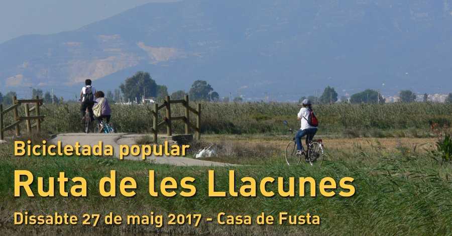 Bicicletada popular Ruta de les Llacunes