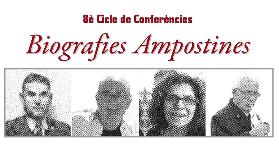 Cicle de conferències Biografies ampostines: Carlos Conde Calvet
