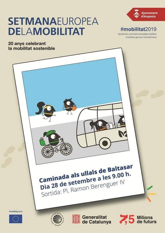 Caminada del Dia de la Mobilitat als Ullals de Baltasar