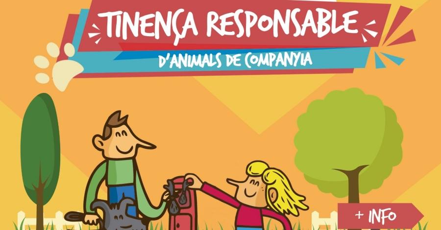 Campanya de civisme sobre la tinença d'animals