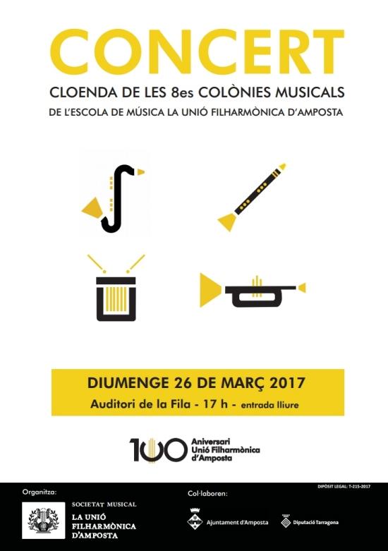 Concert - Cloenda de les VIII Colònies Musicals de la Fila
