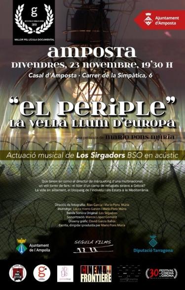 El Casal acull la projecció del documental «El Periple. La vella llum d'Europa» | Amposta.info