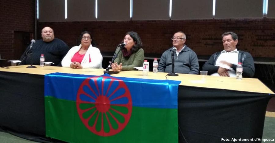 Amposta celebra el Dia Mundial del Poble Gitano