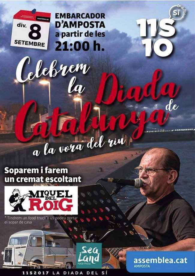 Celebrem la Diada de Catalunya a la vora del riu