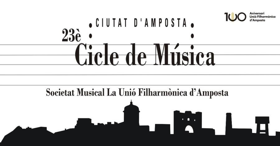 23è Cicle de Música «Ciutat d'Amposta». Concert a càrrec de la formació musical «Àgora Brass»