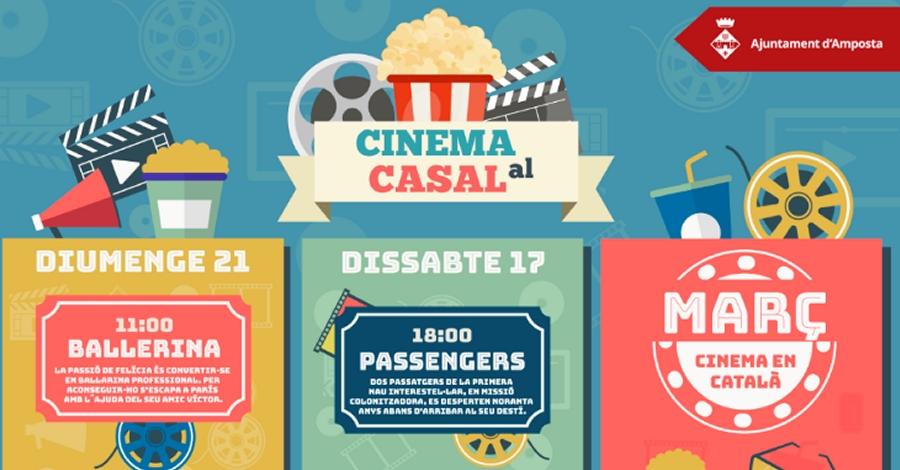 Nou cicle de Cinema en català al Casal