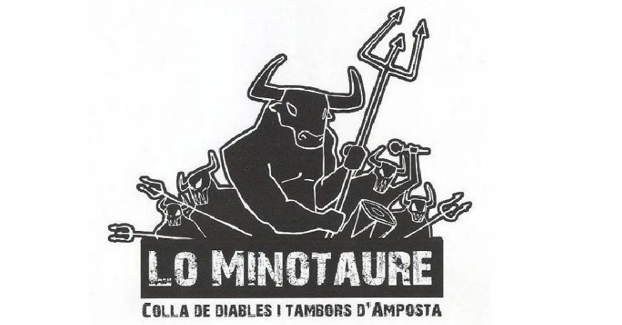 """Presentació de la colla de diables d'Amposta """"lo Minotaure"""""""