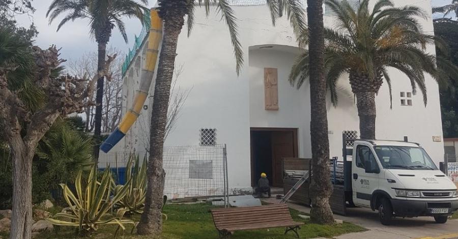 Comencen les obres de rehabilitació de l'Església del Poble Nou del Delta