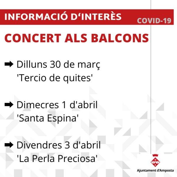 Concert als balcons: «La Perla Preciosa»