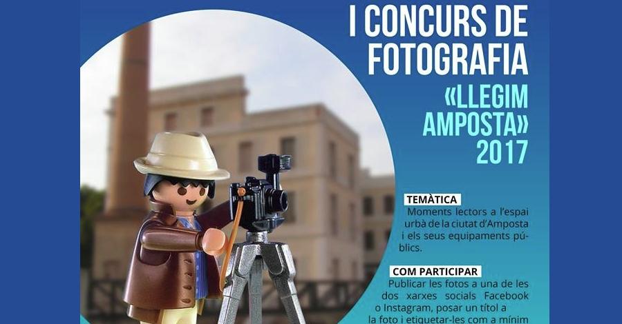 I Concurs de fotografia «Llegim Amposta»