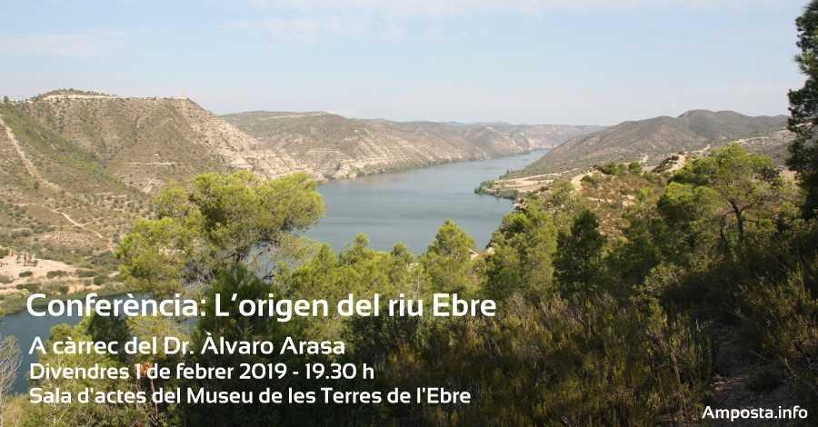 """Dia Mundial de les Zones Humides. Conferència """"L'origen del riu Ebre"""""""