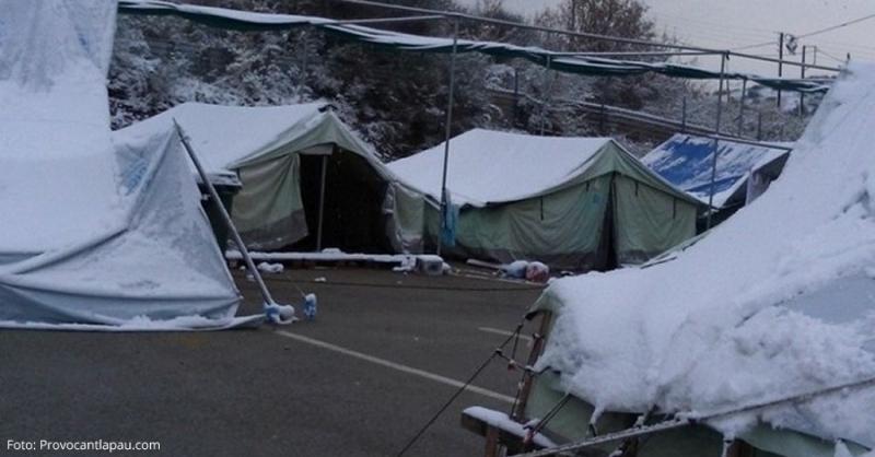 Operació escalfor: crida d'ajuda humanitària per als camps de refugiats de Grècia