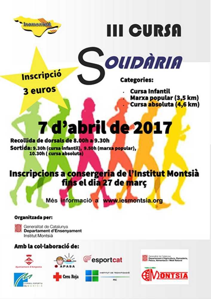 III Cursa solidària IES Montsià