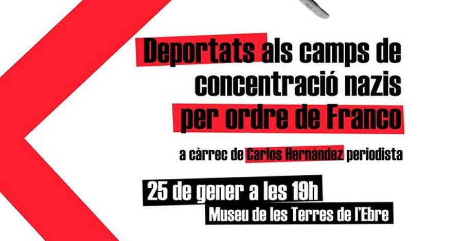 Conferència: Deportats als camps de concentració nazis per ordre de Franco