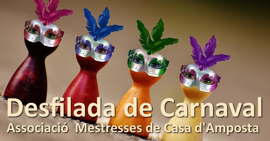 Desfilada de Carnaval Associació Mestresses de casa