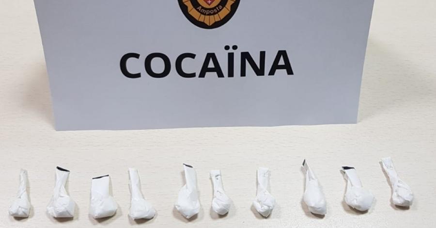 Un detingut per presumpte tràfic de cocaïna | Amposta.info
