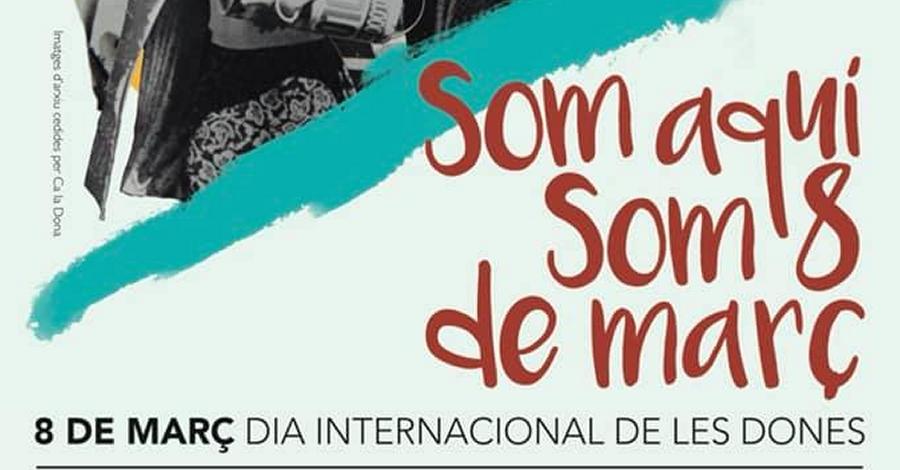 Convocatòria de concentració amb motiu del Dia Internacional de la Dona