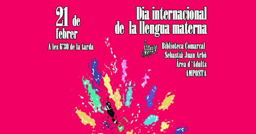 Celebració del dia internacional de la llengua materna